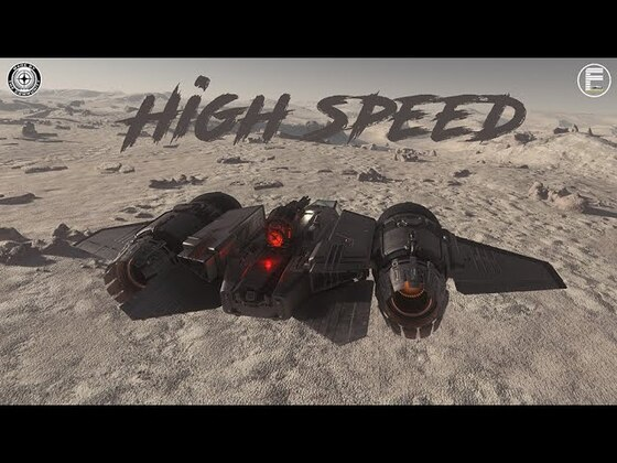 Highspeed lowflying on Daymar