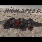 Highspeed lowflying on Daymar